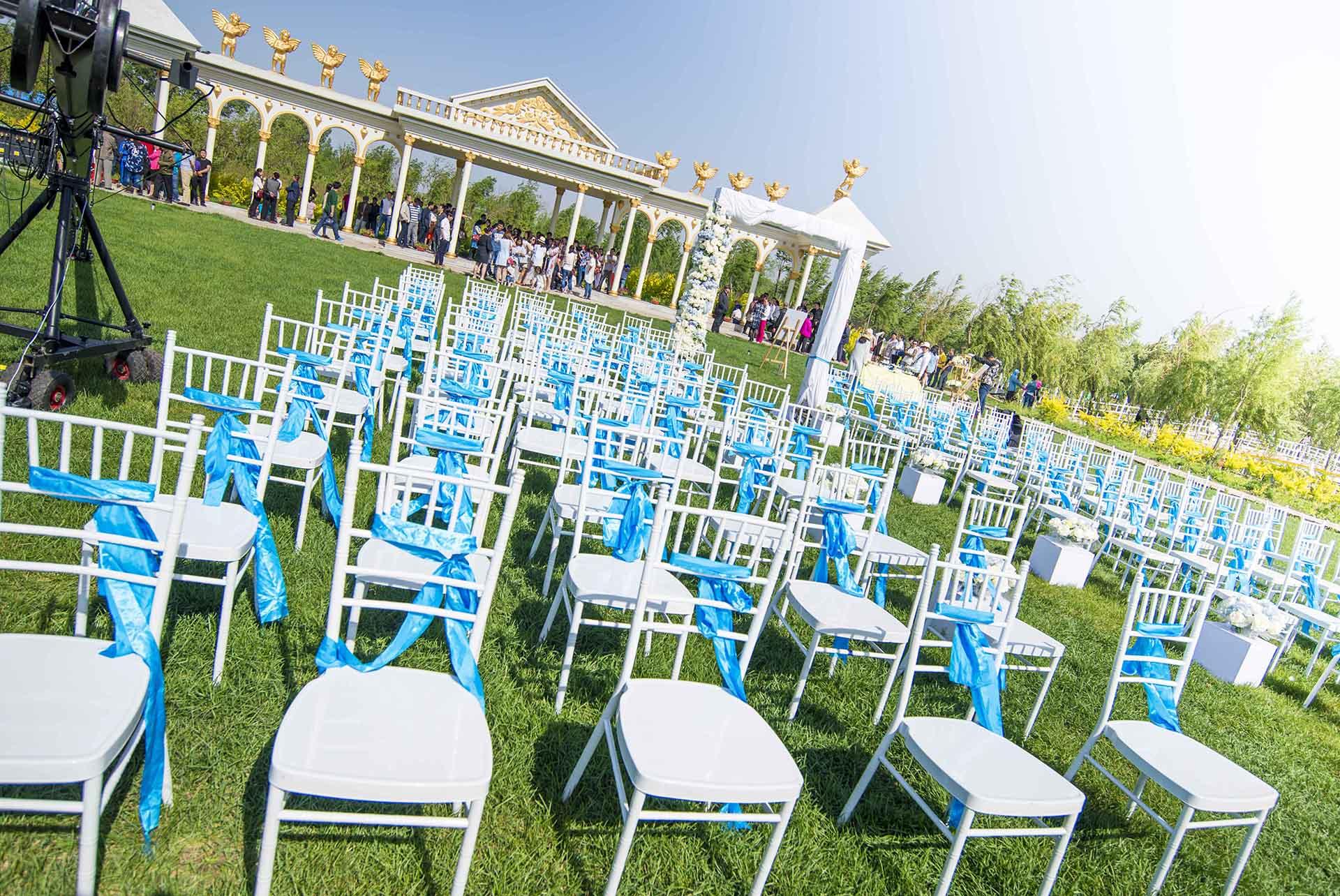 长春关东文化园草坪婚礼 长春户外婚礼