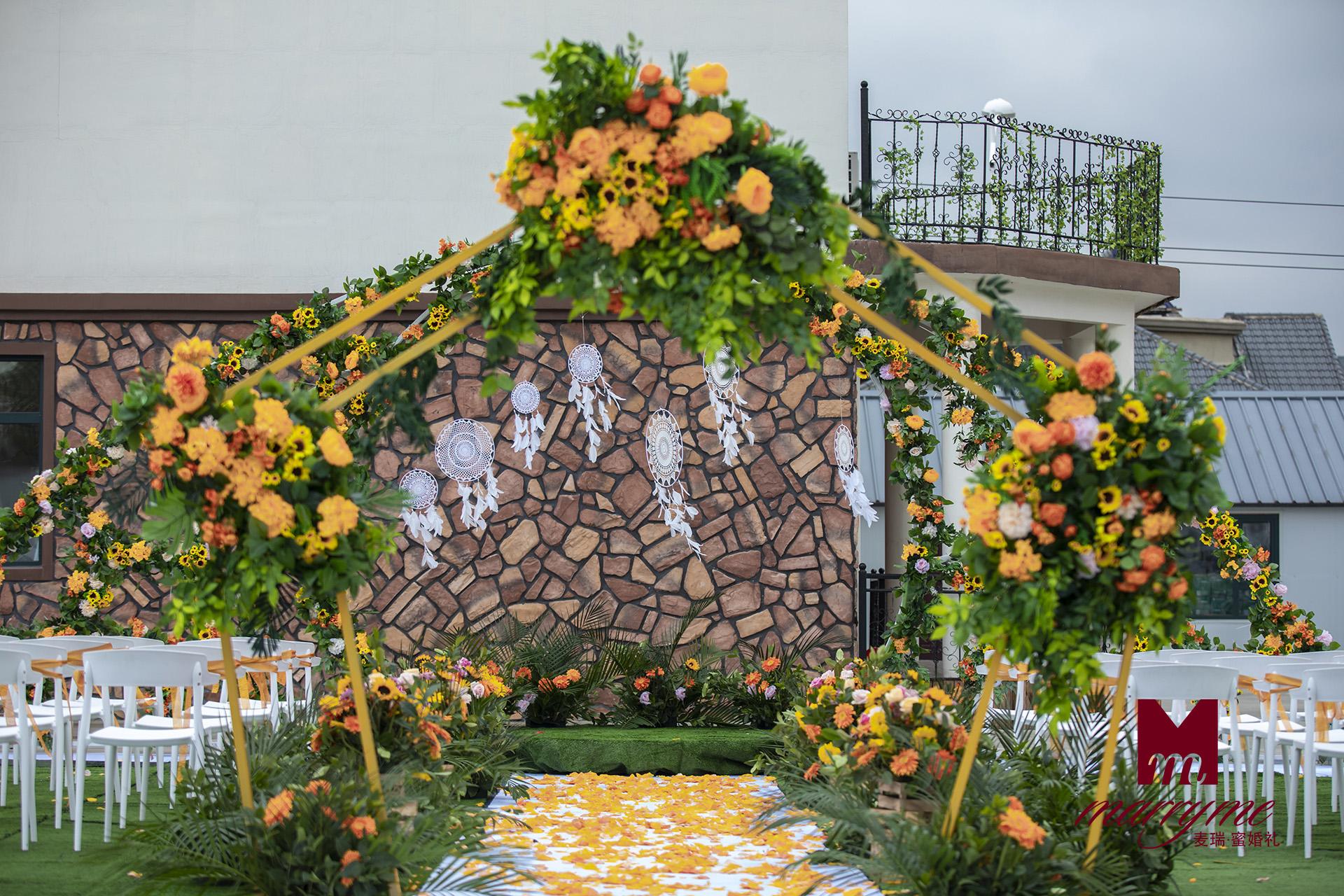 长春别墅院子婚礼
